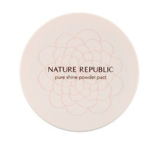 Компактная пудра Nature Republic Pure Shine Powder Pact