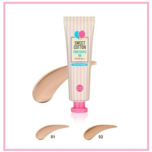 BB-крем с экстрактом Хлопка Holika Holika Sweet Cotton Pore Cover BB SPF30 РА++