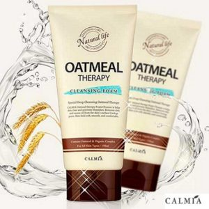 Пенка с экстрактом Овса Calmia Oatmeal Therapy Cleansing Foam