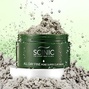 Маска с Амазонской глиной Scinic All Day Fine Pore Super Clay Mask