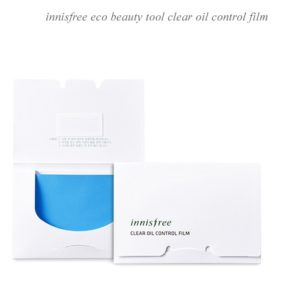 Матирующие салфетки Innisfree Beauty Tool Clear Oil Control Film