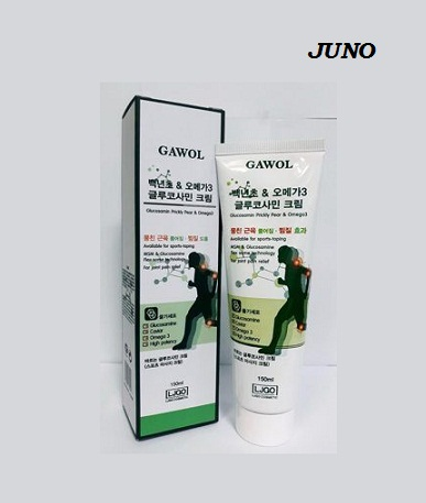 Лечебный массажный крем для тела с Глюкозамином и Омега-3 Juno Gawol Glucosamine Prickly Pear Omega-3 Cream