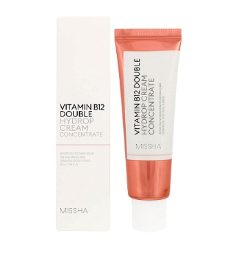 Увлажняющий крем для лица Missha Vitamin B12 Double Hydrop Cream Concentrate